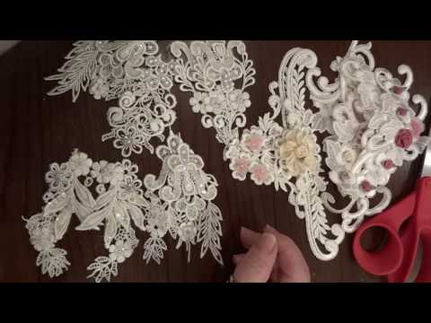How to Turn Appliques into Embellishments!