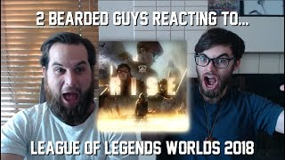 REACTION to RISE Worlds 2018 - League of Legends
