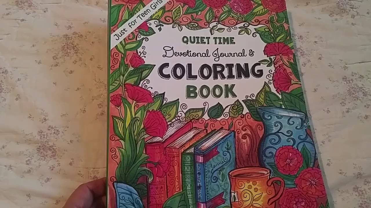 Just for Teen Girls: Devotional Coloring Book - YouTube
