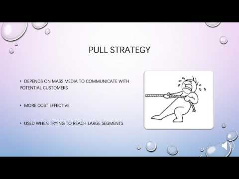 Pull And Push Communication Strategies