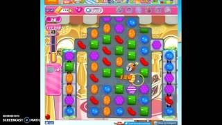 Candy Crush Level 1015 help w/audio tips, hints, tricks