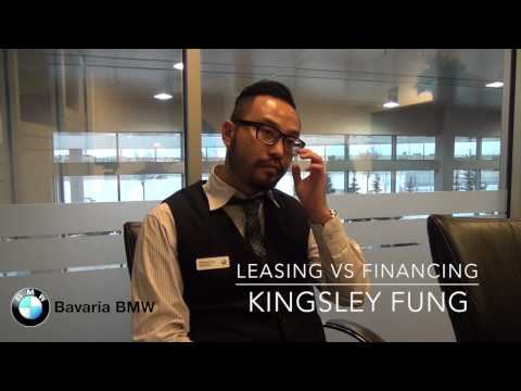 Bavaria BMW - Leasing vs Financing