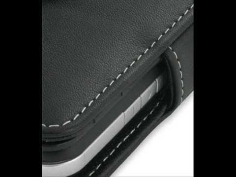 PDair Leather Case for Toshiba Portege G810 - Book Type (Black)