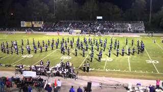 Daphne High School Band 2015 Show Honor 10 2 15