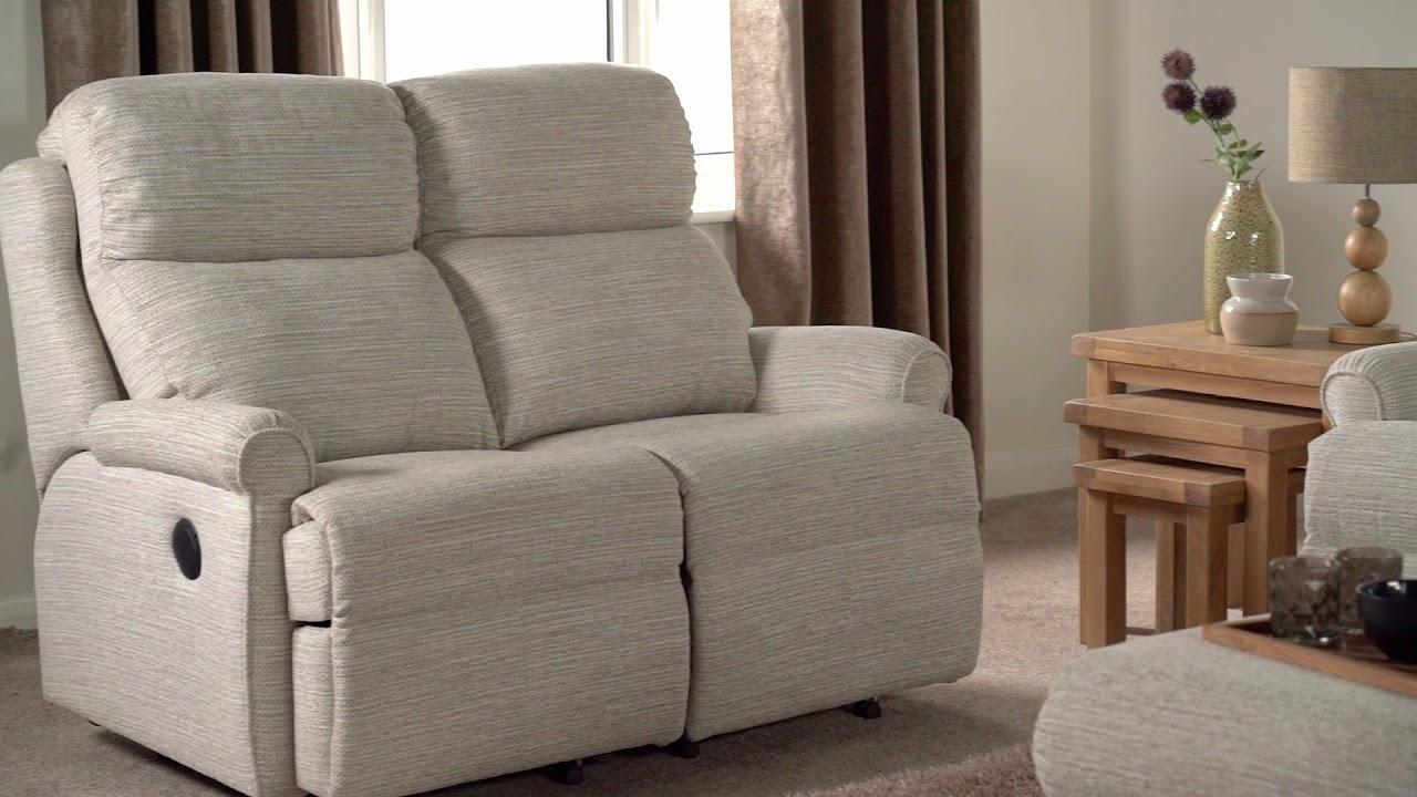 G Plan Newbury 3 Seater Manual Recliner Sofa Double ScS