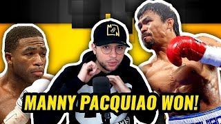 MANNY PACQUIAO VS ADRIEN BRONER - FULL FIGHT HIGHLIGHTS + POST FIGHT INTERVIEWS | REACTION