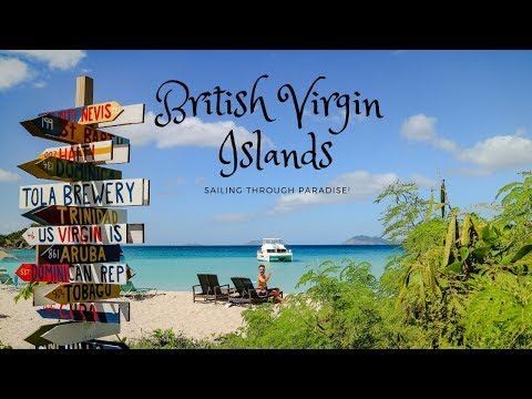 British Virgin Islands - Sailing through paradise!