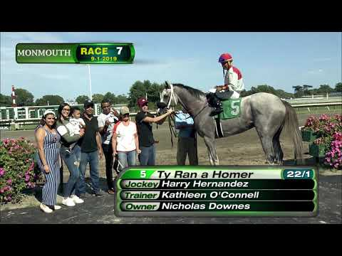 video thumbnail for MONMOUTH PARK 9-1-19 RACE 7