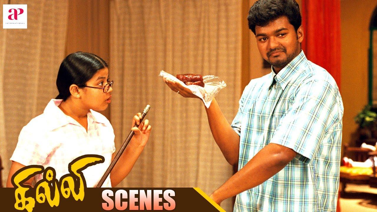 Download Gilli Tamil Movie Scenes | Vijay saves Trisha from Prakash Raj | Ashish Vidyarthi | AP International