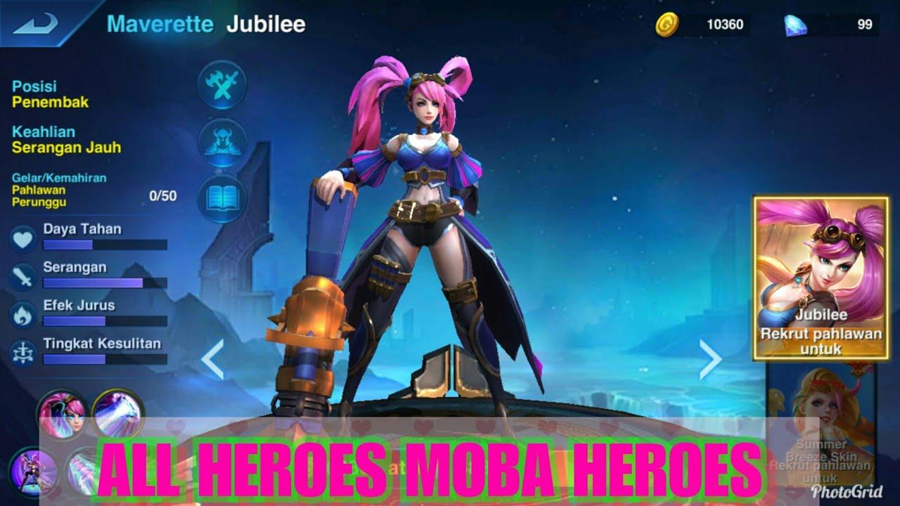 Moba Heroes Arena All Heroes Moba Heroes Arena Youtube