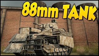 Crossout ➤ Ravager! - 88 Mm Cannon Tank Build [Crossout Gameplay]