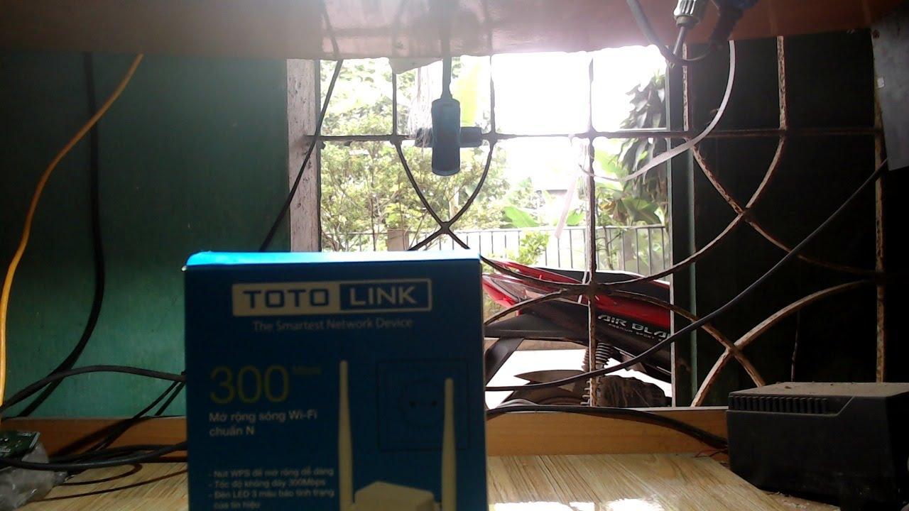 Cài Đặt Mở Rộng Sóng Wifi Đơn Giản Và Rẻ Với TOTOLINK EX200