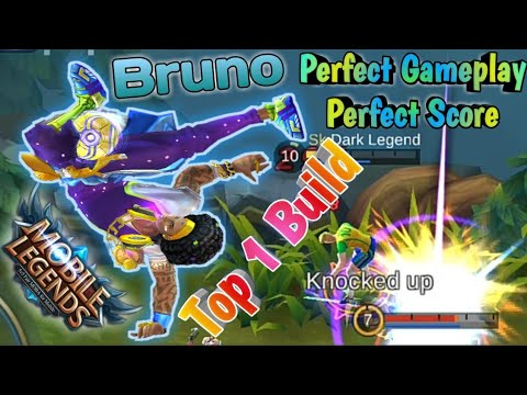 Mobile Legends: Bruno Perfect Ranked Carry | Bruno Top 1 Build – Perfect Score