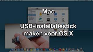 USB-installatiestick maken voor OS X (VideoBytes - Mac)