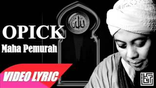 Maha Pemurah - Opick