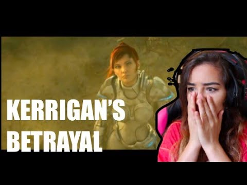 Kerrigan's Betrayal Reaction *Annoyed*