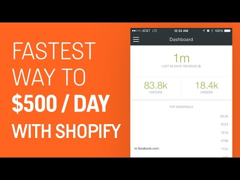 Fastest Way To $500 Perf Day With Shopify | eCom Dudes