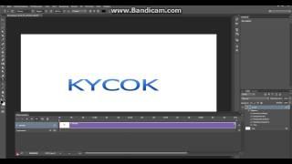 Как сделать анимацию мигающего текста. PhotoshoP
