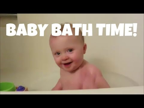 baby bath time ditl youtube. Black Bedroom Furniture Sets. Home Design Ideas
