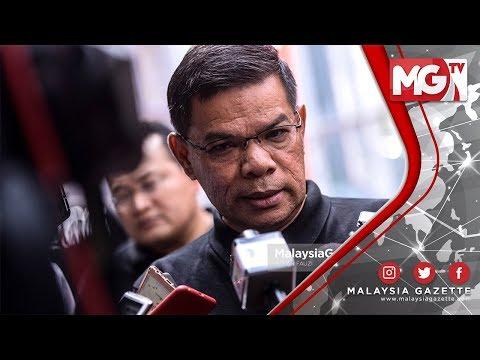 "TERKINI : ""Saya Mengalukan UMNO dan Pas Guna 1 Logo!"" - Saifuddin Nasution"