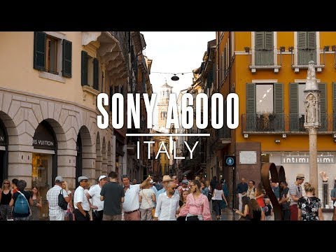 Exploring Italy - Sony A6000 | CINEMATIC Video | Kit Lens 16-50mm