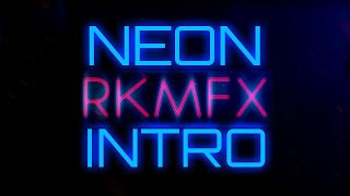 Sony Vegas Pro NEON TEXT Intro Template