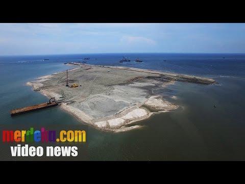 #ReklamasiTelukJakarta : Melihat pembangunan pulau reklamasi G milik PT Agung Podomoro Land
