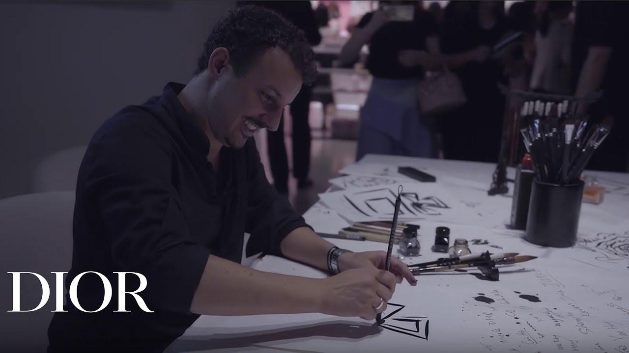 Nicolas Ouchenir for Miss Dior - Love N'Roses Exhibition Shanghai