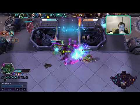 Maiev  1 vs 3 , heroes of the storm