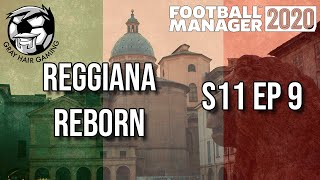 FM20 S11 EP9 Big Decision At End of Episode Reggiana Reborn Football Manager 2020