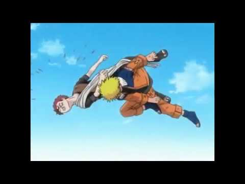 Naruto:Naruto vs Gaara AMV