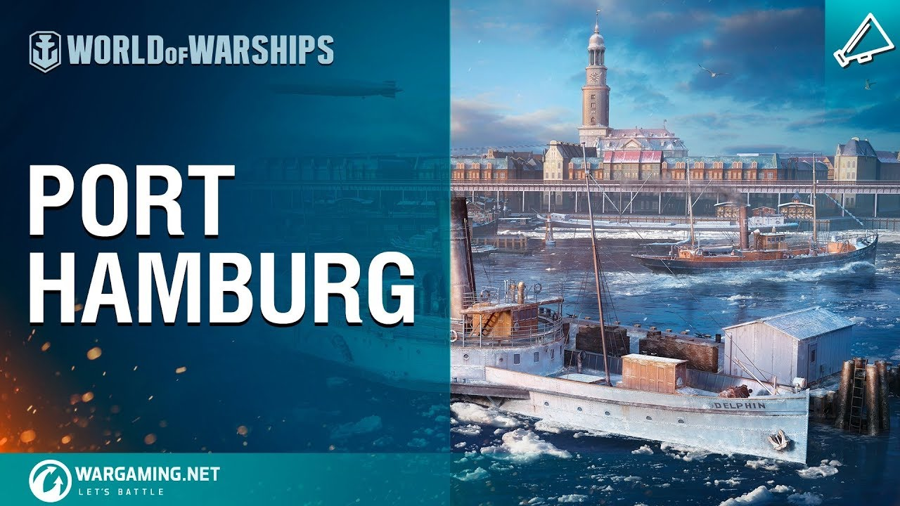 World of Warships – Port Hamburg