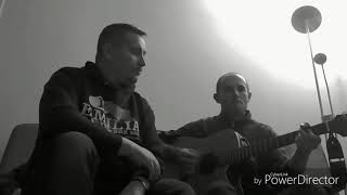 Get out of your own way - U2 acoustic cover - live rehearsals Joe & Pier Special