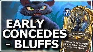 Hearthstone - Best of Early Concedes & Bluffs