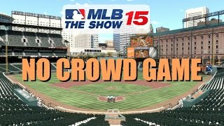MLB 15 The Show (PS4) - Orioles vs White Sox (NO CROWD GAME!)