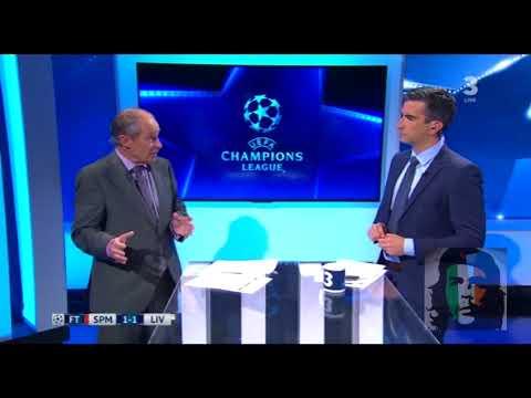 Spartak Moscow vs Liverpool 1-1 post match analysis Souness, Kerr,  Kilbane