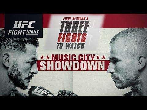 Top 3 Fights to Watch at UFC Fight Night Nashville: Swanson vs. Lobov