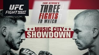 Top 3 Fights to Watch at UFC Fight Night Nashville: Swanson vs. Lobov