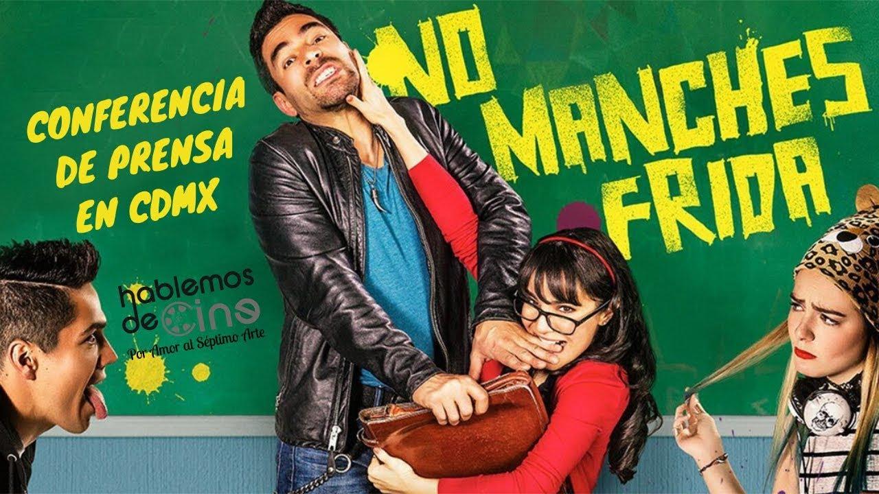 Ver NO MANCHES FRIDA, con Omar Chaparro y Martha Higareda, Conferencia de Prensa (INTEGRA) en Español