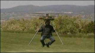 Home Built Personal Helicopter Takes Flight For First Time thumbnail
