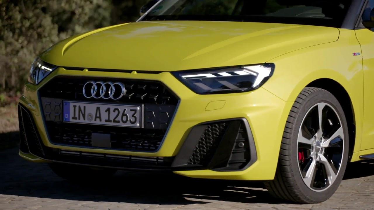 2018 Audi A1 Exterieur Design In Python Gelb