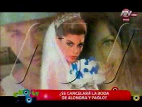 CHOLLYSHOW: ¿Se canceló la boda de Alondra García-Miró con Paolo Guerrero?