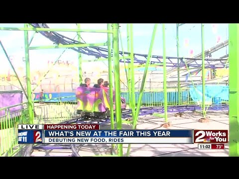 What's new at the Tulsa State Fair this year?