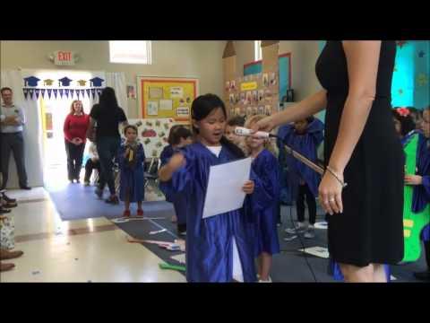 Allison Hoang spoke at Celebration KinderCare - 6/10/2016
