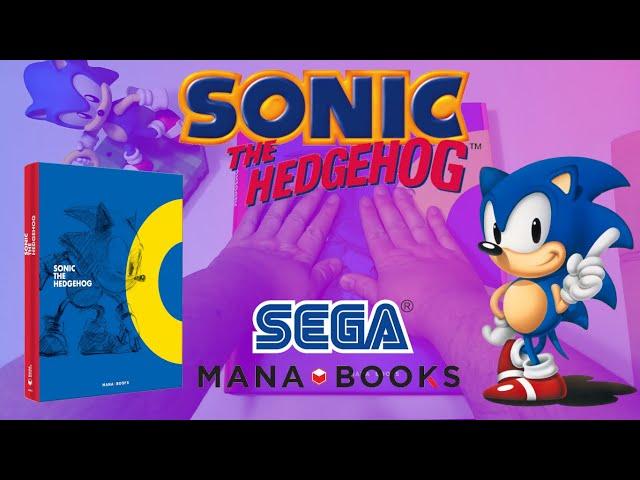 Review de l'artbook Sonic the hedgehog par Mana Books