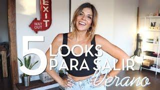 5 LOOKS EN 5 MINUTOS! | PARA SALIR EN VERANO | Trendy Taste