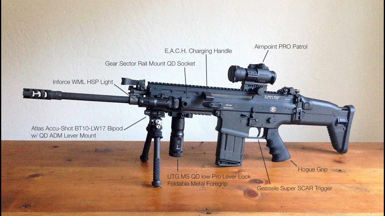 FN SCAR 17S in Shasta
