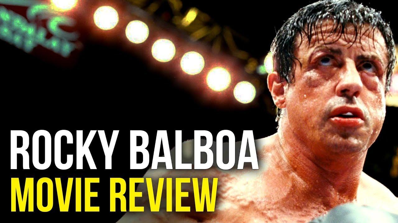 Rocky Balboa Sylvester Stallone Burt Young Milo Ventimiglia Movie Review Bull Session