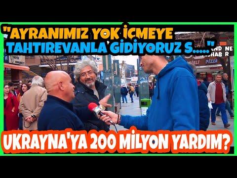 """""""AYRANIMIZ YOK İÇMEYE...""""  (Türkiye'den Ukrayna Ordusuna 200 Milyon TL Yardım!)"""