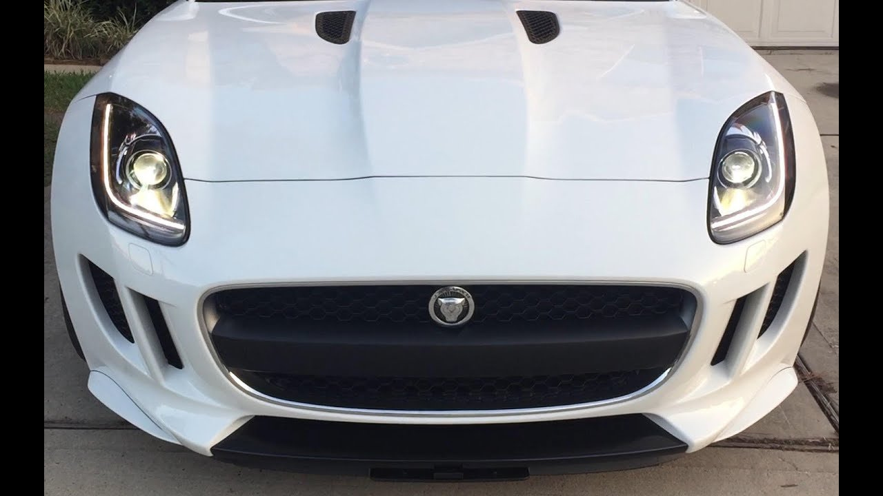 Marvelous Retractable License Plate (2017 Jaguar F Type)